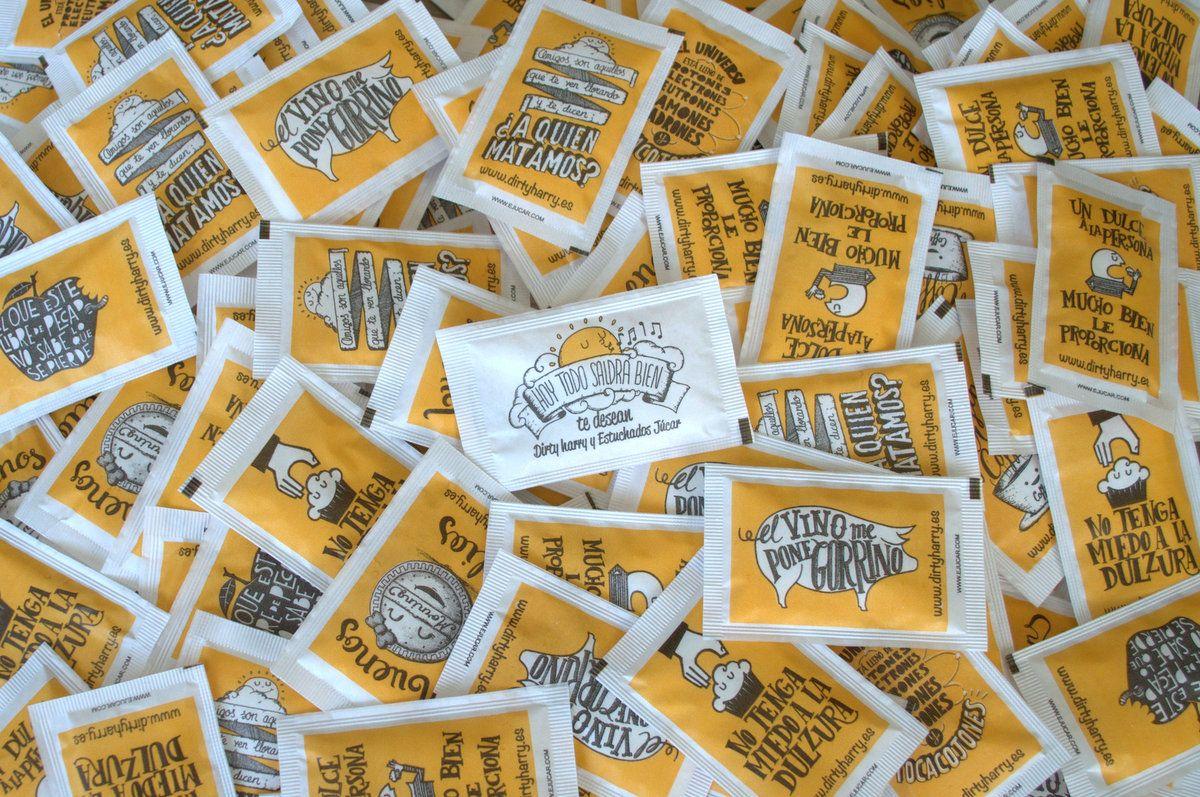 Los sobres de azúcar de Dirty Harry